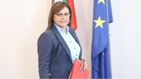 Liderja e BSP-së Kornelija Ninova