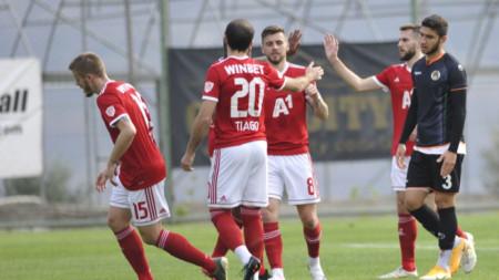 ЦСКА София не успя да вкара гол във втората си контрола.