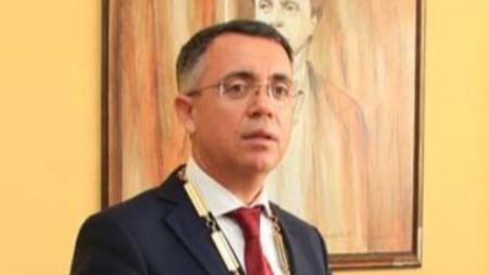 инж. Хасан Азис, заместник-председателят на ДПС и кмет на община Кърджали.