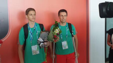 Денис Димитров и Ангел Кирчев