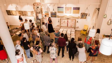 """Откриване на изложбата """"Home Sweet Home"""" на Надя Шурел"""