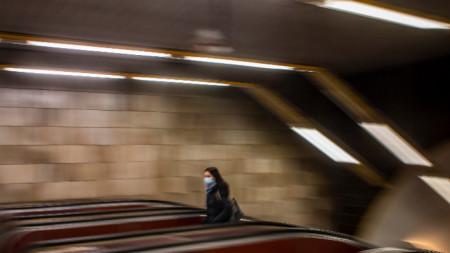 Пражкото метро - февруари 2021 г.