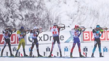 Русия спечели мъжката щафета в Оберхоф