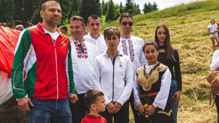 Тервел Пулев, Крум Дончев, Екатерина Дафовска, Радослав Янков, Елица Янкова
