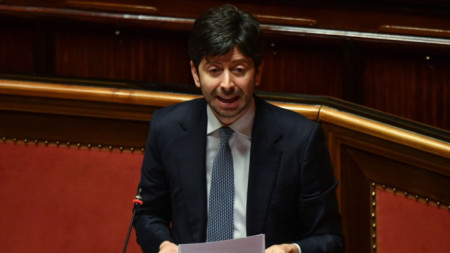 Роберто Сперанца, министър на здравеопазването на Италия