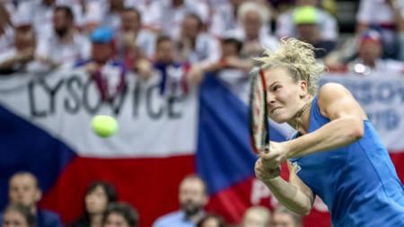 Катерина Синякова записа две победи във финала.
