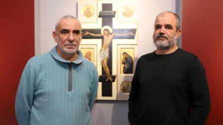 Станимир Желев и Атанас Атанасов