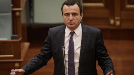 """Лидерът на """"Самоопределение"""" Албин Курти получи мандат за сформиране на правителство."""