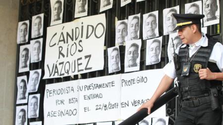 Най-много са извършените убийства на журналисти в Мексико.