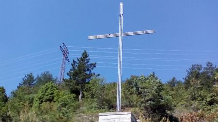 Новият кръст в Асеновград