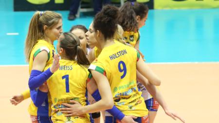 Отборът на Марица отново ще играе във финал на първенството по волейбол за жени