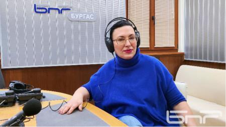 Елка Стоянова, председател на Районната избирателна комисия в Бургас
