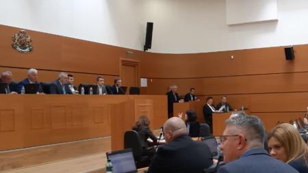 ОбС Пловдив - сесия