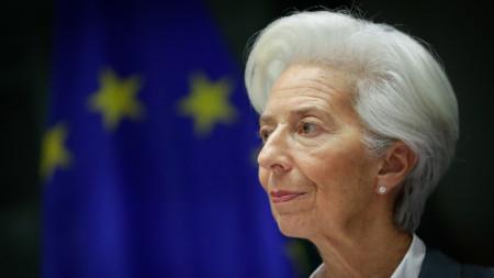 Кристин Лагард, председател на ЕЦБ
