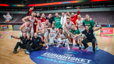 Баскетболните национали са 27-и в Европа.