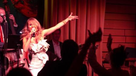 Мария-Елена Инфантино на сцената