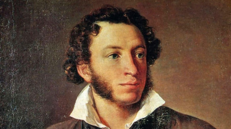Портрет на Александър Пушкин от Василий Тропинин