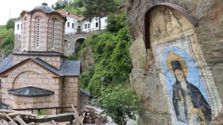 Монастырь Святого Иоакима Осоговского в Крива-Паланка, Македония