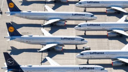 Въпреки че през май не летяха хиляди самолети, парниковите емисии са се увеличили.