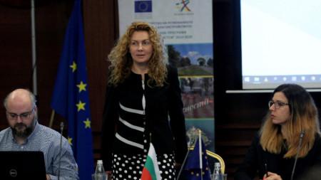Заместник-министърът на регионалното развитие и благоустройството Деница Николова присъства на форум, на който беше представена концепцията на бъдещата оперативна програма за подкрепа на регионите в програмния период 2021-2027 г.
