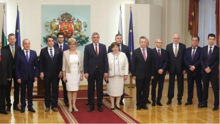 Служебното правителство с премиер Стефан Янев