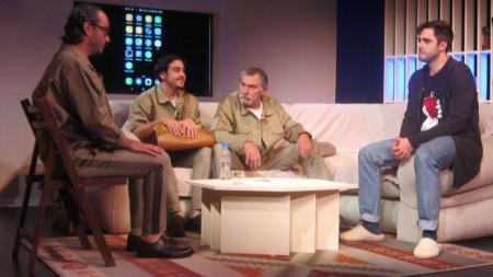 На снимката от ляво на дясно: Адриян Филипов, Иван-Александър Дойчев, Петьо Кръстев и Антъни Пенев