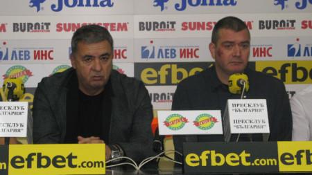 Георги Аврамчев и Кристиян Минковски.