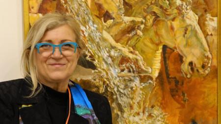 """Д-р Анета Риналди, артдиректор на """"Луксарт"""" – Рим"""