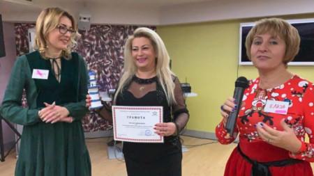 Свилена Димитрова, Анелия Торошанова и Елиза Николова