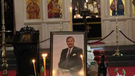 Близки и приятели се сбогуваха днес с Жорж Ганчев в църквата