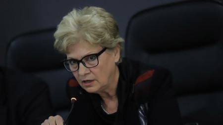 Виолета Комитова - министър на регионалното развитие и благоустройството.
