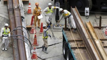 Строителството е един от секторите, в които се предполага, че Япония ще разреши още чужди работници.