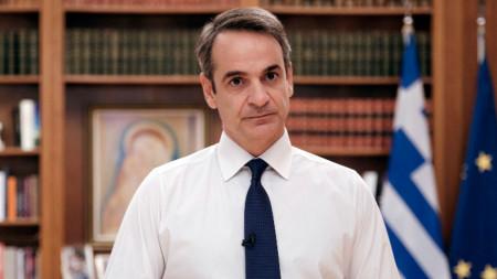 Премиерът на Гърция Кириакос Мицотакис