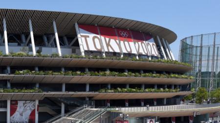 Олимпийският стадион, където ще се проведе церемонията по откриването в петък.