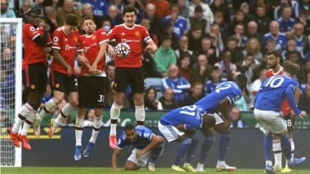 Лестър повали Манчестър Юнайтед с 4:2 в зрелищен мач