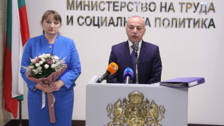 Гълъб Донев и Деница Сачева