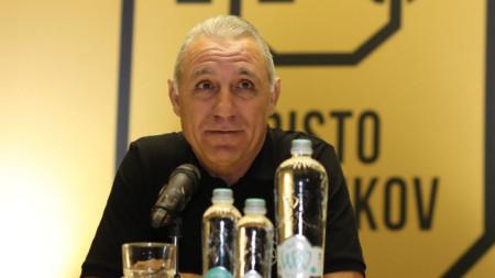 Христо Стоичков е доволен от оставката на Бартомеу.