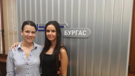 Катерина Паличева и Таня Христова