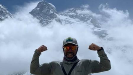 Alpinisti Stefan Stefanov