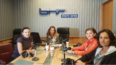 Миролюба Бенатова, Ива Дойчинова, Весислава Антонова и Генка Шикерова