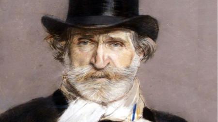 Портрет на Верди от Джузепе Бордини