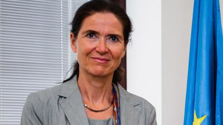 Ambasadorja e Gjermanisë në Shkup Anke Holstein