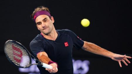 Федерер спечели последните 6 точки в дългия тайбрек.