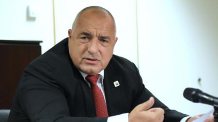 Premier Boyko Borissov