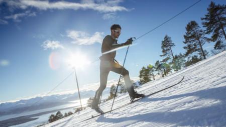 Килиан Жорнет в 24-часовото ски предизвикателство