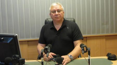 "Румен Манов  в студиото на програма ""Христо Ботев"""