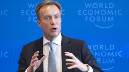 Борге Бренде, президент на Световния икономически форум
