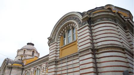 Историческата сграда на Централната баня в София е обект на спор за бъдещото й предназначение