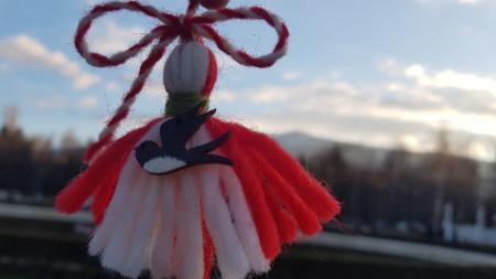 Göçebe kuşlar olan kırlangıçlar ve leylekler de ilkbaharın habercisi olarak algılandıkları için, birçok martenitsa modelinde onları görmek mümkün