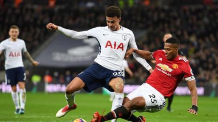 Деле Али (вляво)пропуска мача с Манчестър Юнайтед.